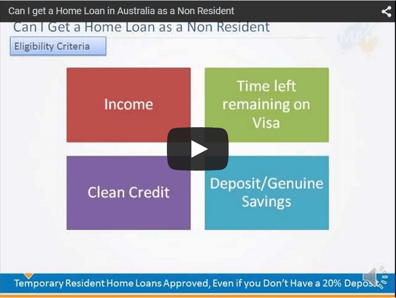 Non-Resident Mortgages & Home Loans