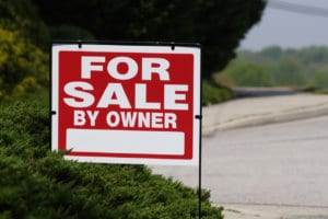 investment property for sale sign